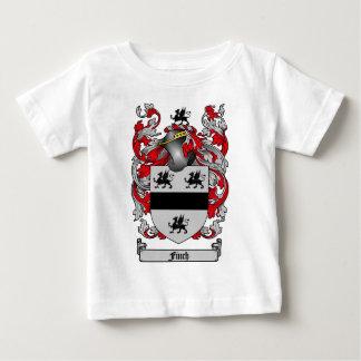 フィンチの家紋-フィンチの紋章付き外衣 ベビーTシャツ