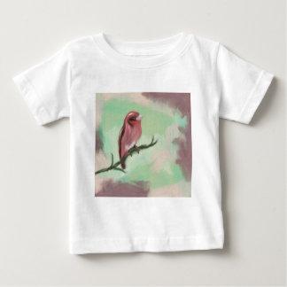 フィンチは上がりました ベビーTシャツ