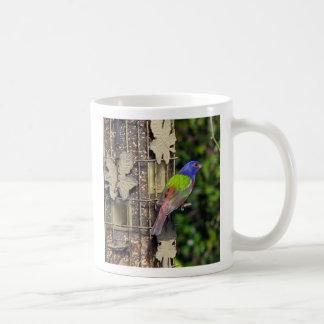 フィンチ2月1日5-06のDによる色彩の鮮やかな旗布の写真… コーヒーマグカップ