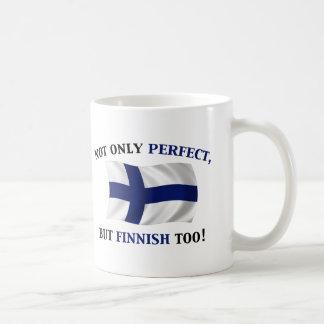 フィンランドおよび完全 コーヒーマグカップ