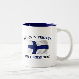 フィンランドおよび完全 ツートーンマグカップ