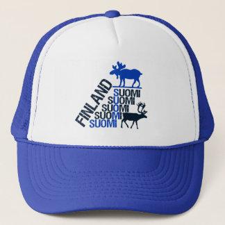 フィンランドのアメリカヘラジカ及びトナカイの帽子 キャップ
