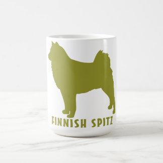 フィンランドのスピッツ コーヒーマグカップ