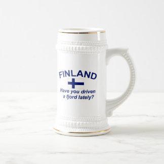 フィンランドのフィヨルド ビールジョッキ