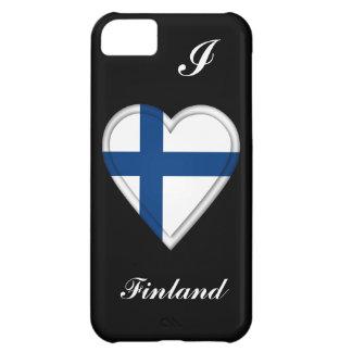 フィンランドのフィンランドの旗 iPhone5Cケース