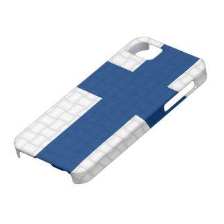 フィンランドのフィンランドの旗 iPhone SE/5/5s ケース