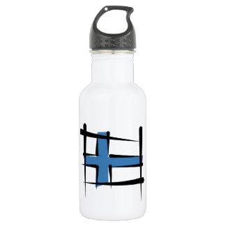 フィンランドのブラシの旗 ウォーターボトル