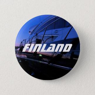 フィンランドのボートボタン 5.7CM 丸型バッジ