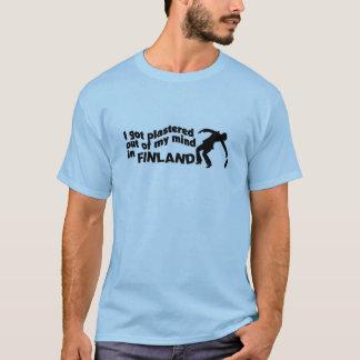 フィンランドのワイシャツで塗られて-スタイル及び色を選んで下さい Tシャツ