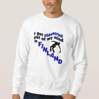 フィンランドのワイシャツで塗られる スウェットシャツ