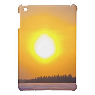 フィンランドの冬の日没 iPad MINI カバー