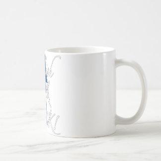 フィンランドの女の子の石! コーヒーマグカップ