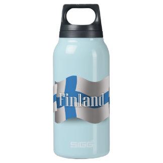 フィンランドの振る旗 断熱ウォーターボトル