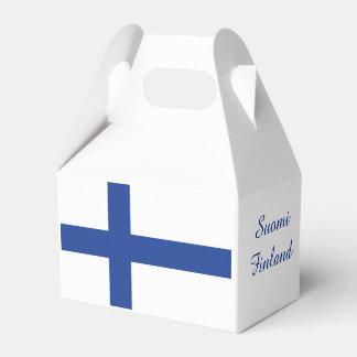フィンランドの旗のカスタムな好意箱 フェイバーボックス