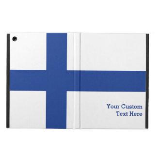 フィンランドの旗のカスタムのケース iPad AIRケース