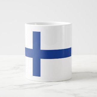 フィンランドの旗のカスタムのマグ ジャンボコーヒーマグカップ