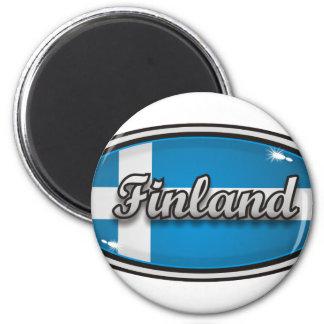 フィンランドの旗1 マグネット