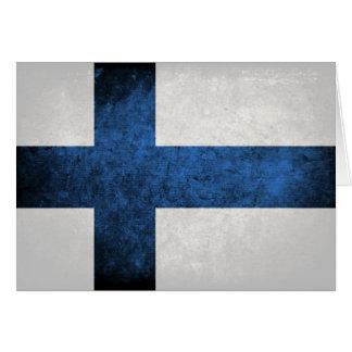 フィンランドの旗 カード
