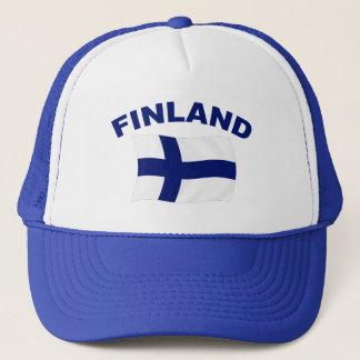 フィンランドの旗 キャップ