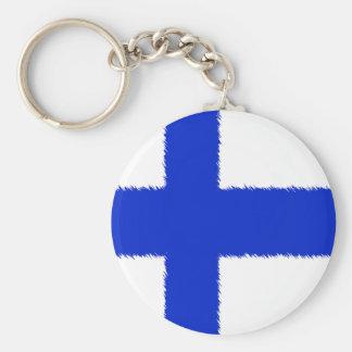 フィンランドの旗 キーホルダー