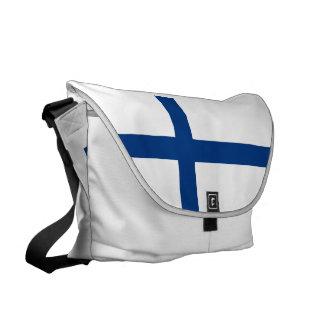 フィンランドの旗 クーリエバッグ