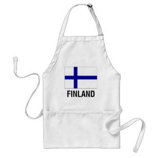 フィンランドの旗 スタンダードエプロン