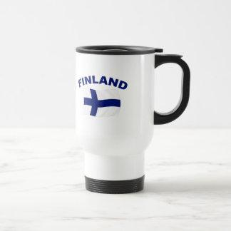 フィンランドの旗 トラベルマグ