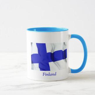 フィンランドの旗 マグカップ