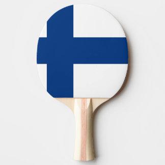 フィンランドの旗 卓球ラケット