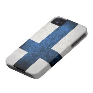 フィンランドの旗 Case-Mate iPhone 4 ケース