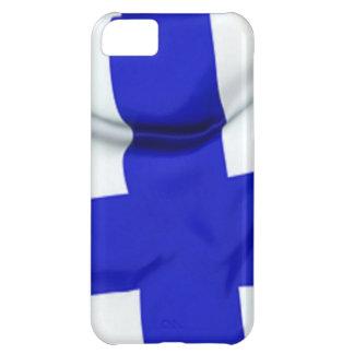 フィンランドの旗 iPhone5Cケース