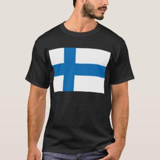 フィンランドの旗 Tシャツ