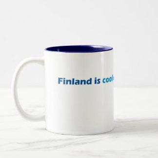 フィンランドの涼しいマグ ツートーンマグカップ