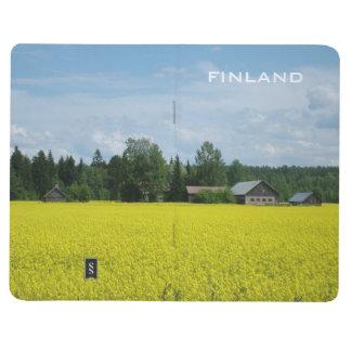 フィンランドの田舎カスタムな小型ジャーナル ポケットジャーナル
