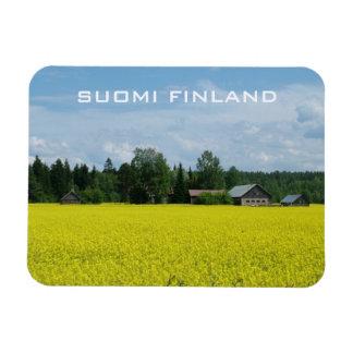 フィンランドの田舎カスタムの磁石 マグネット