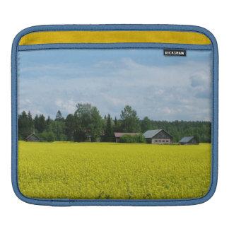 フィンランドの田舎ラップトップ/iPadの場合 iPadスリーブ