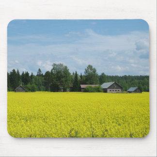 フィンランドの田舎mousepad マウスパッド