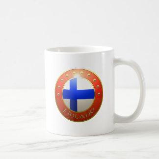 フィンランドの盾 コーヒーマグカップ