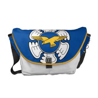 フィンランドの空軍 メッセンジャーバッグ