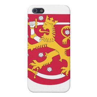 フィンランドの紋章付き外衣 iPhone SE/5/5sケース