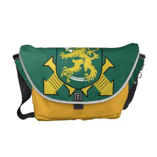 フィンランドの軍隊の旗 クーリエバッグ