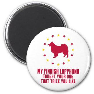 フィンランドのLapphund マグネット