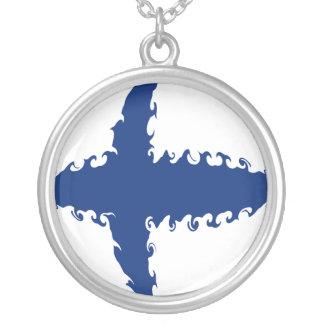 フィンランド|すごい|旗 ペンダント