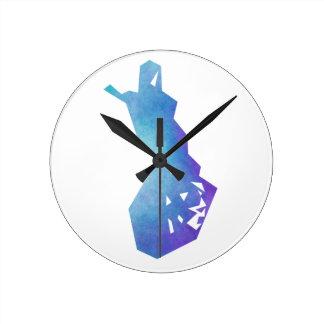 フィンランド ラウンド壁時計