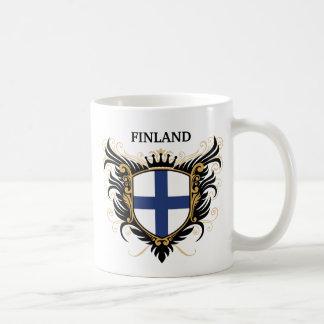 フィンランド[個人化して下さい] コーヒーマグカップ