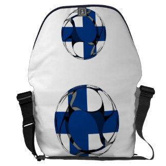 フィンランド#1 メッセンジャーバッグ