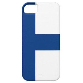 フィンランド- Siniristilippuの旗 iPhone SE/5/5s ケース