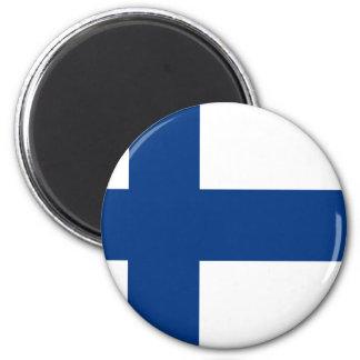 フィンランド(Suomenのlippu、Finlandsのflagga)の旗 マグネット