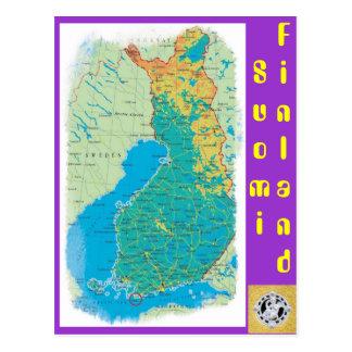 フィンランド、Suomi ポストカード