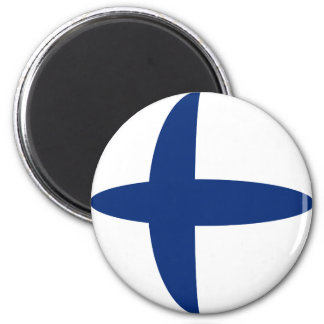 フィンランドFisheyeの旗の磁石 マグネット
